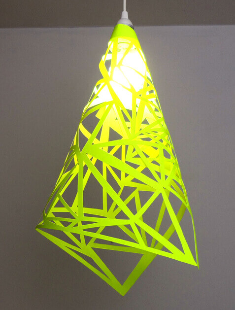 DIY Easy Papercut Lamp Shade