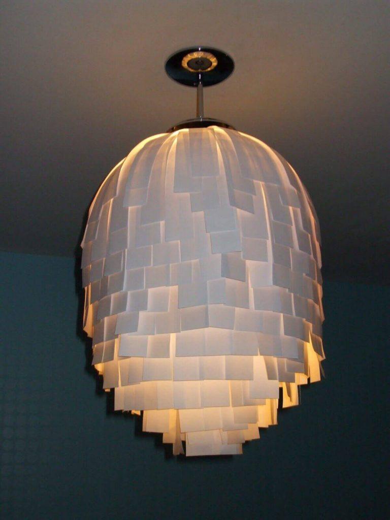DIY Upcycled Lampshade