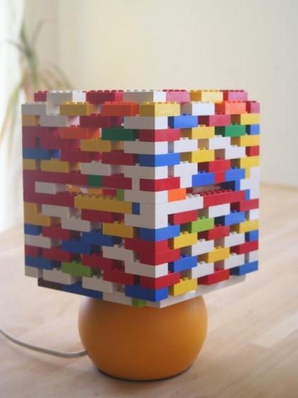 DIY LEGO Lampshade