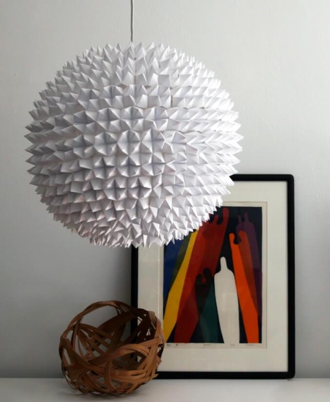 DIY Large Sphere Fortune Teller Lampshade