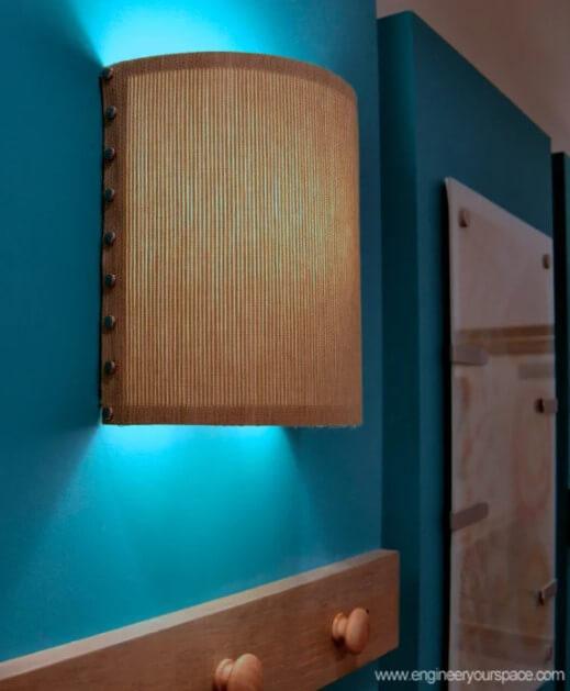 DIY Wall Lamp Lampshade
