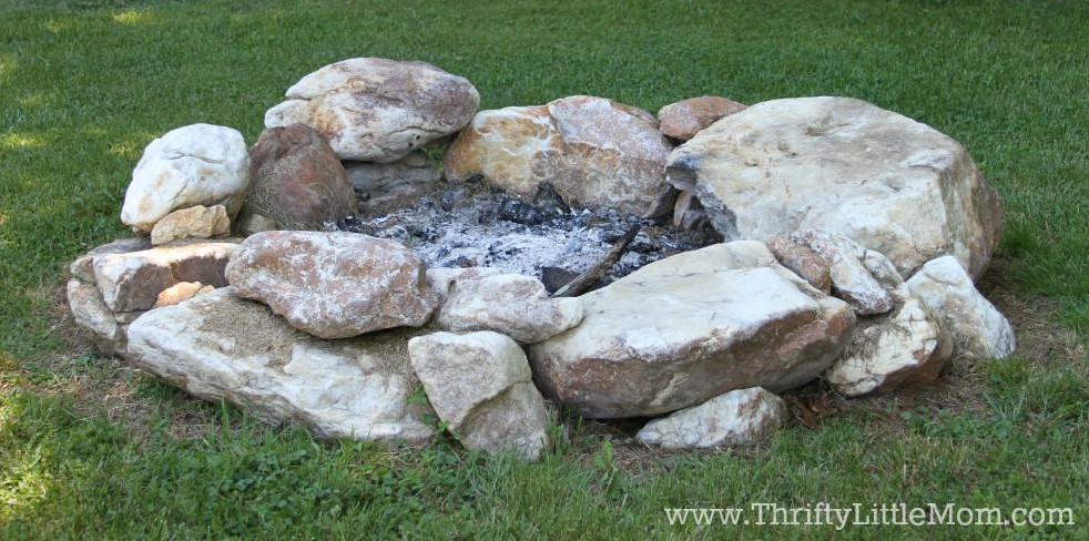 Backyard Fire Pit for Free