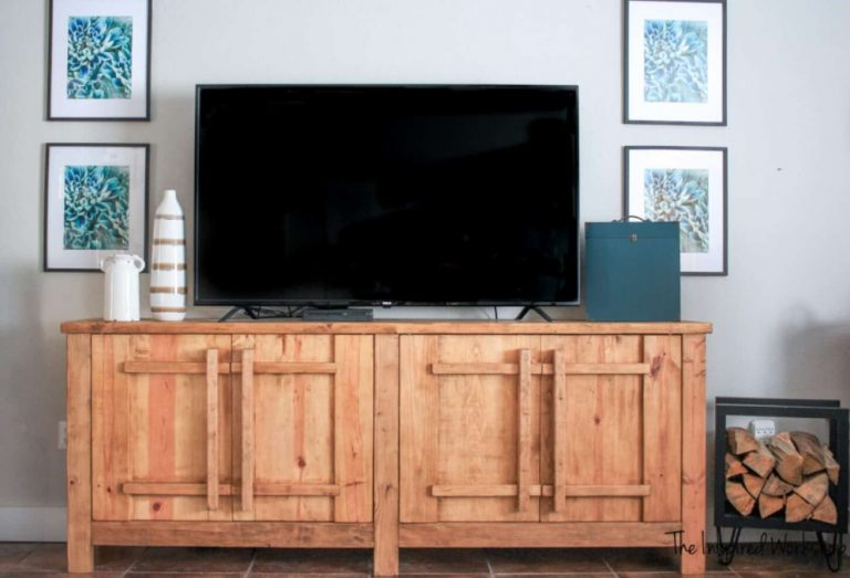 DIY TV Stand or Media Console