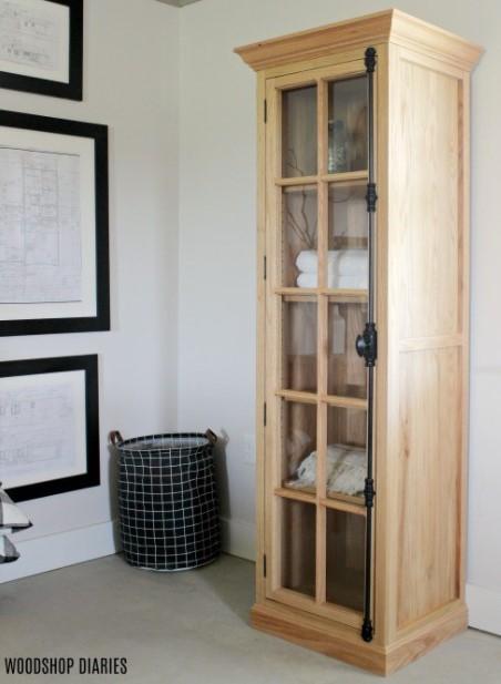 Linen Display Cabinet