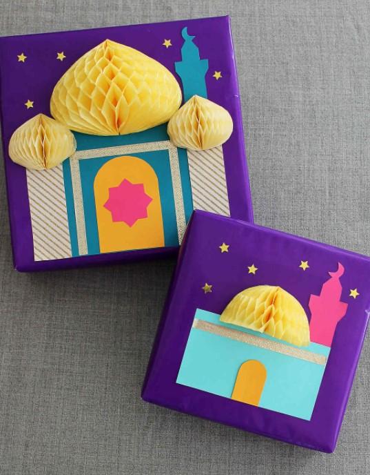 3 D Eid Gift Wrap