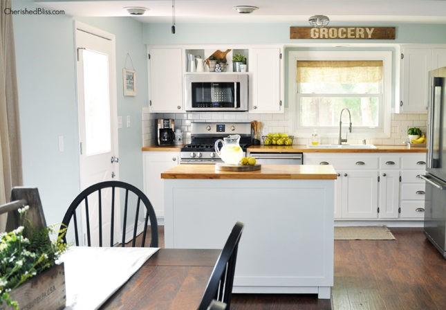 Build a DIY Kitchen Island