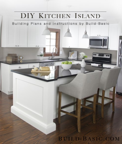 DIY kitchen island for under $250