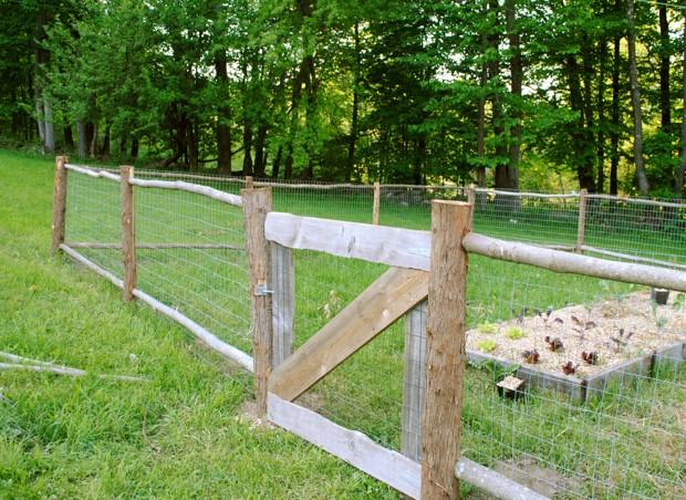 Building a Garden Fence Part 2