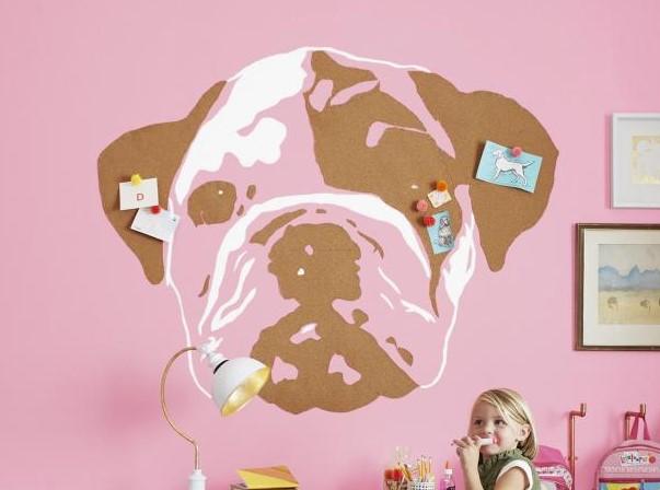 Bulldog Cork Art