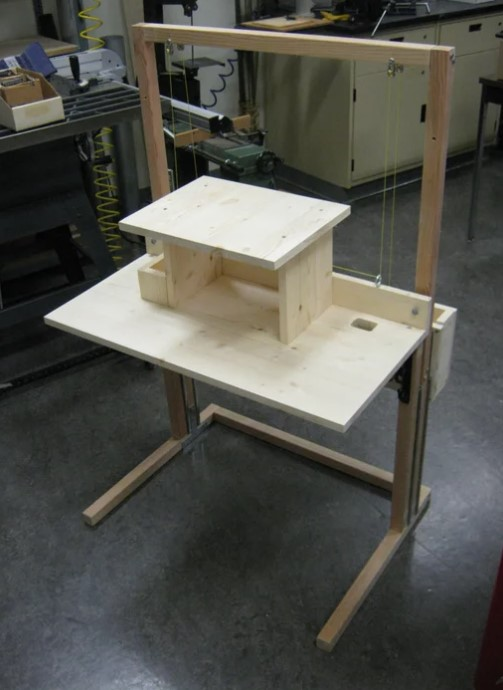 Convertible Standing Sitting Desk for 200
