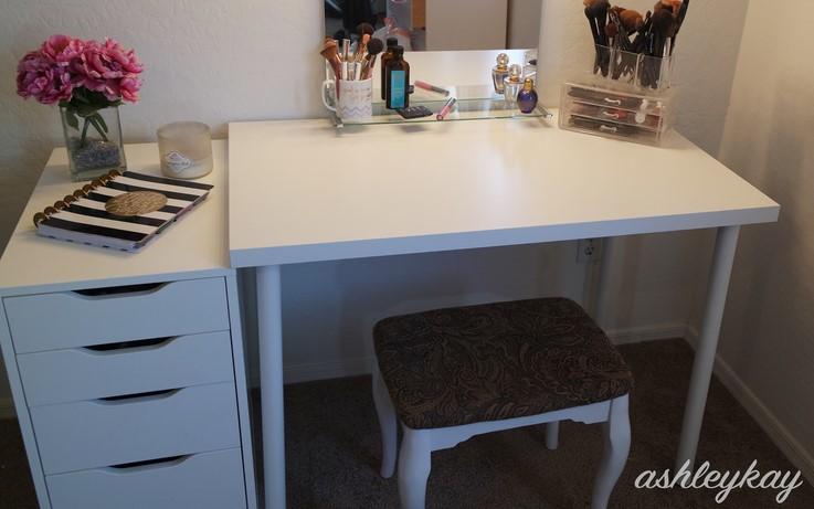 DIY IKEA VANITY UNDER 50