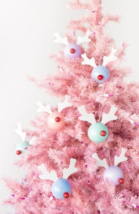 Rudolph DIY Christmas Decoration