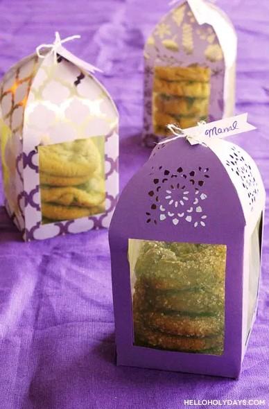 DIY Ramadan Paper Lantern Favor