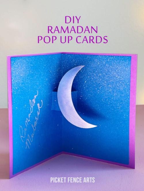 DIY Ramadan Pop Up Cards