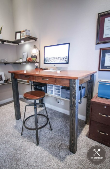 DIY Standing Desk Modification