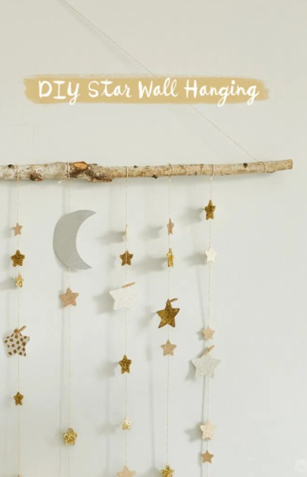 DREAMY ROOM DECOR WITH A DIY STAR WALL HANGING