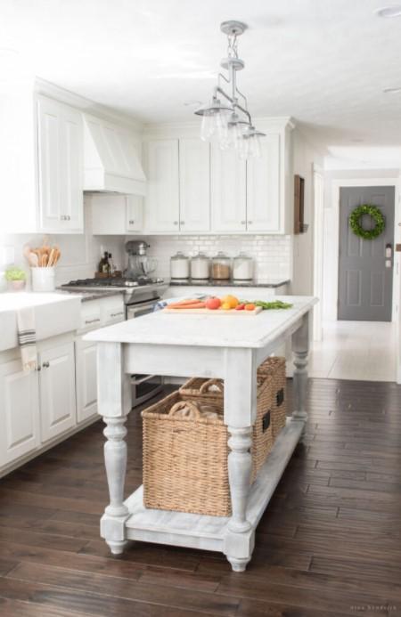 Furniture Style DIY Kitchen Island