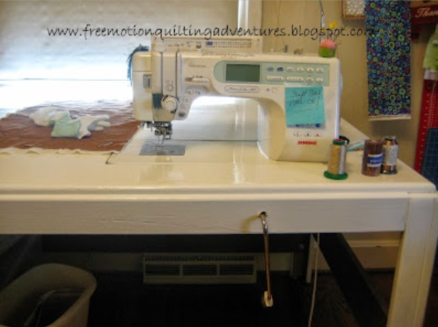 Great for Free Motion Quilting