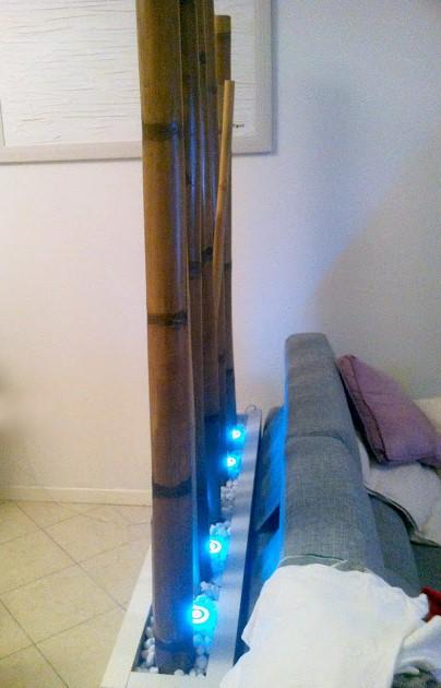 LACK bamboo room divider