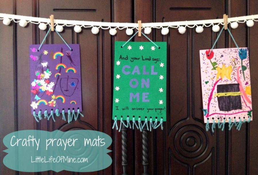 MUSLIM PRAYER MAT CRAFT
