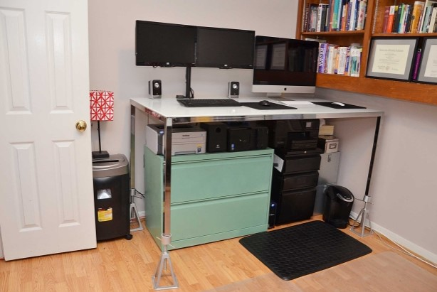 MY STANDING DESK FOR 50