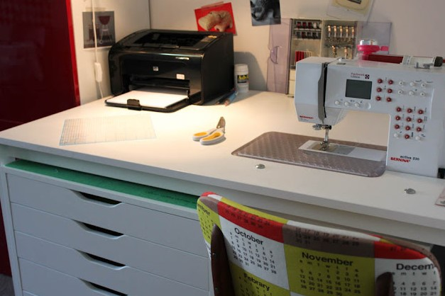 Make Your Own Sewing Desk Tutorial