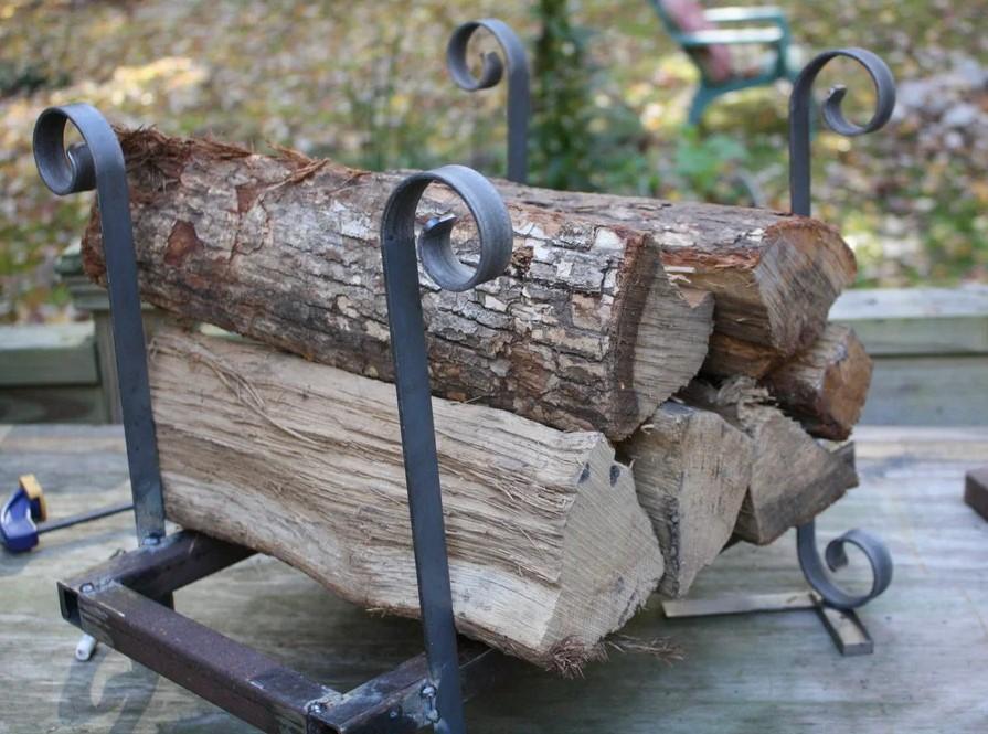 Metal Firewood Rack