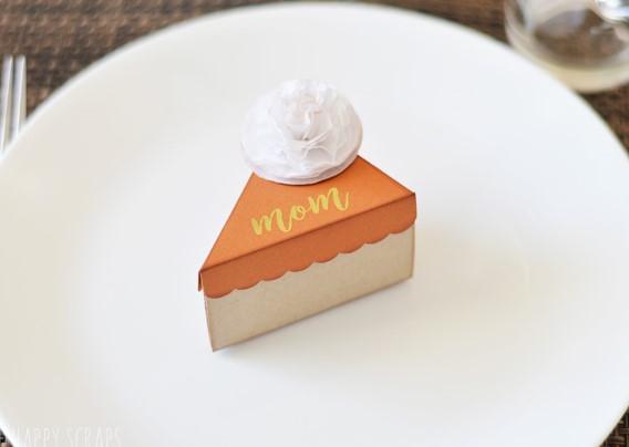 Mini Pie Box Thanksgiving Place Cards