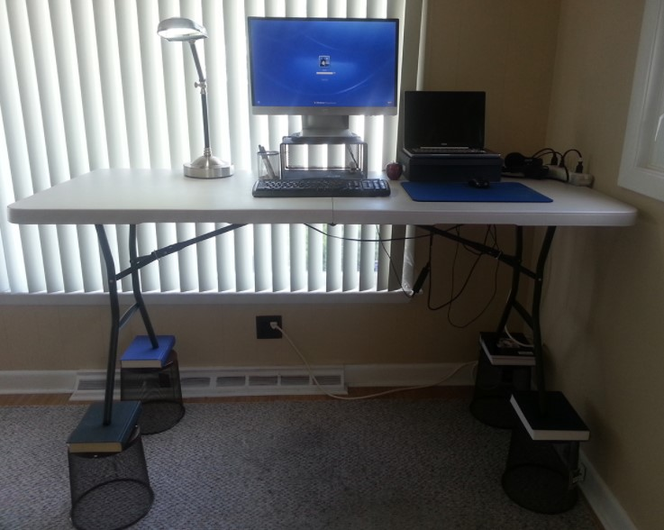 My 20 Standing Desk Hack