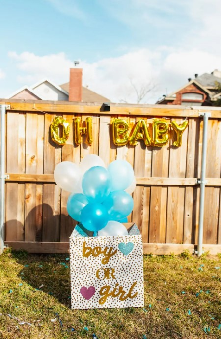 Our Gender Reveal Party for Baby No. 2