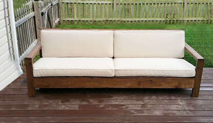 Outdoor Sofa Modern Comfort Collection