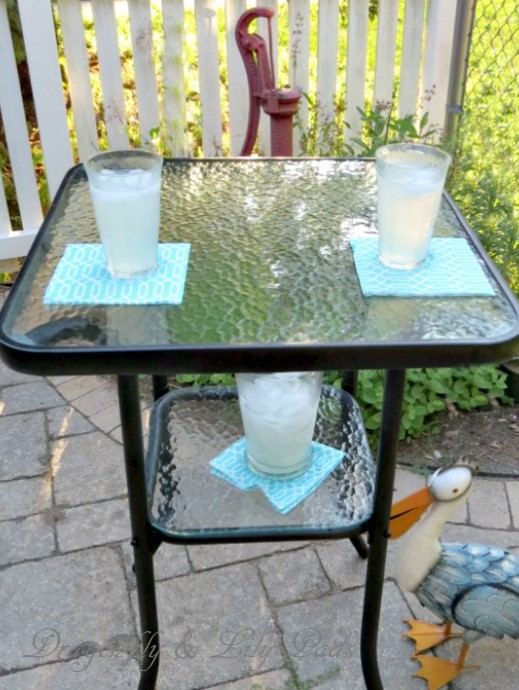 Outdoor Themed Furniture Makeover Day