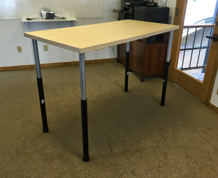 Simple and Cheap Ikea based Standing Desk
