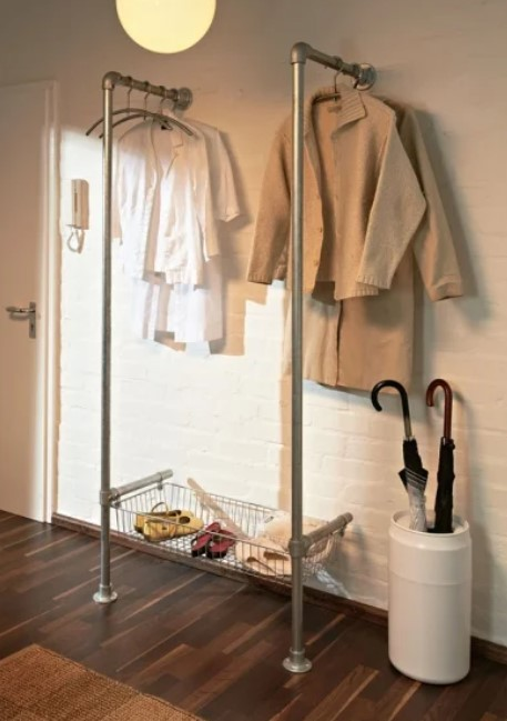 Stylish Clothing Rack From Pipe