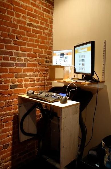 Treadmill Desk 1