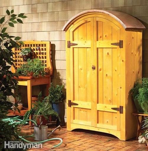 a Pine Garden Hutch