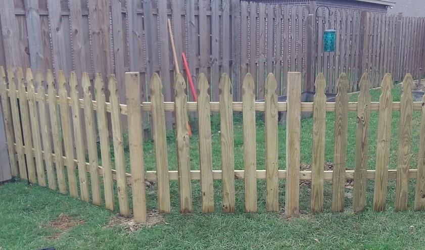a Semi Permanent Fence