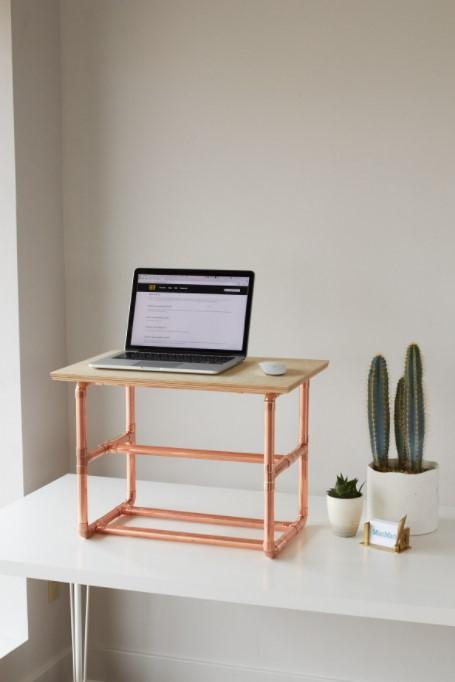 a Stylish Standing Desk Riser