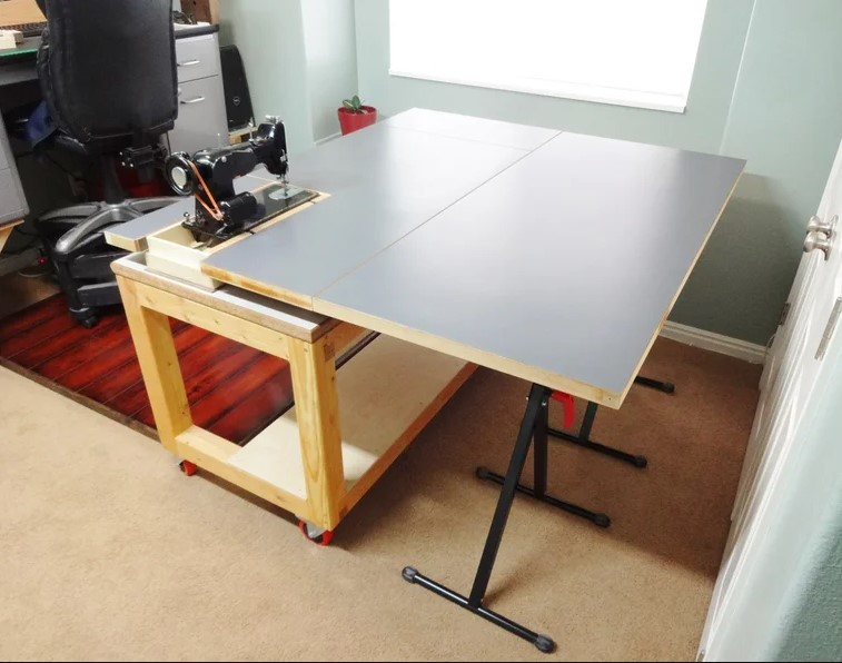 a Versatile Sewing and Craft Table