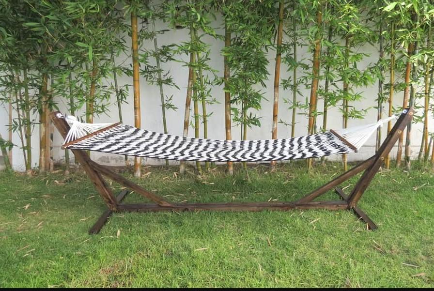 a hammock stand