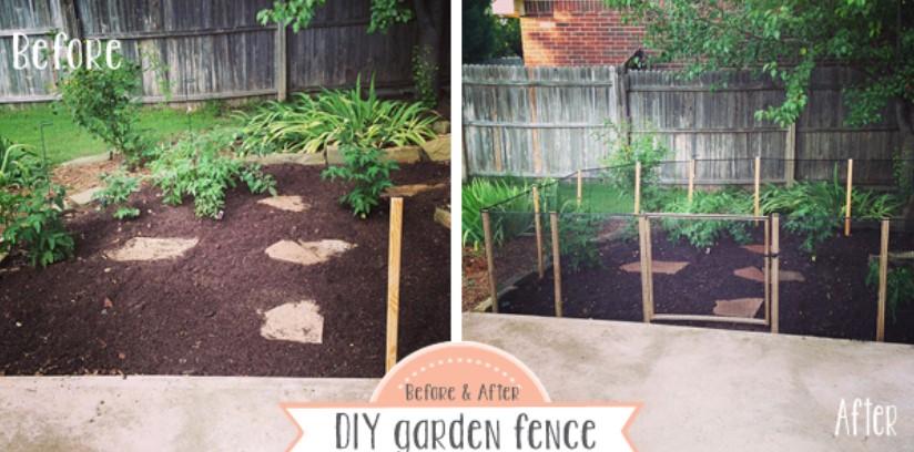 make a Garden Fence