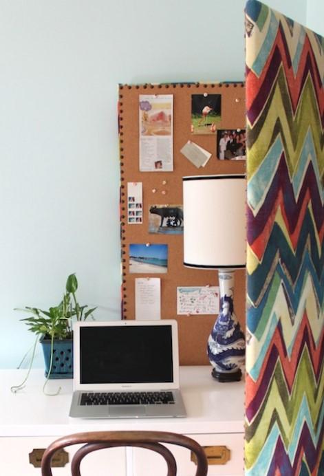 room divider bulletin board