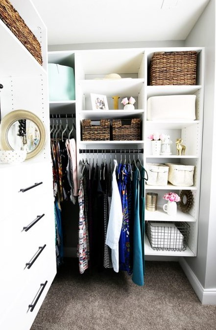 A BEAUTIFUL AND ORGANIZED MASTER CLOSET THE REVEAL