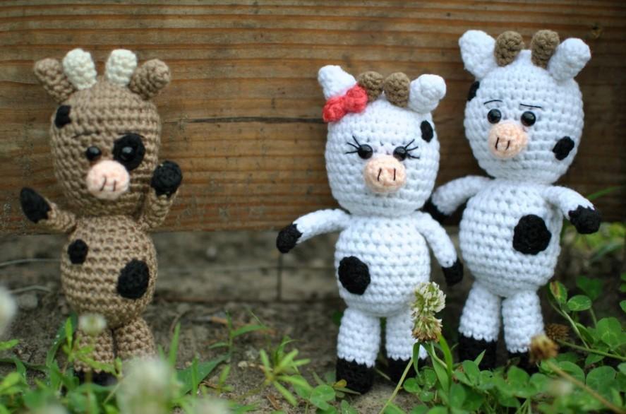 Adorable Amigurumi Cow Pattern