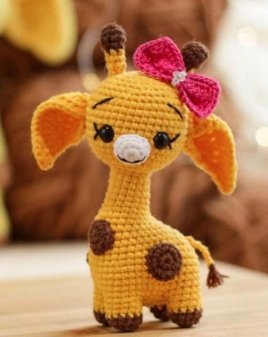 Adorable Crochet Giraffe Pattern Ideas