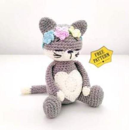 Amigurumi Cat Crochet Free Pattern