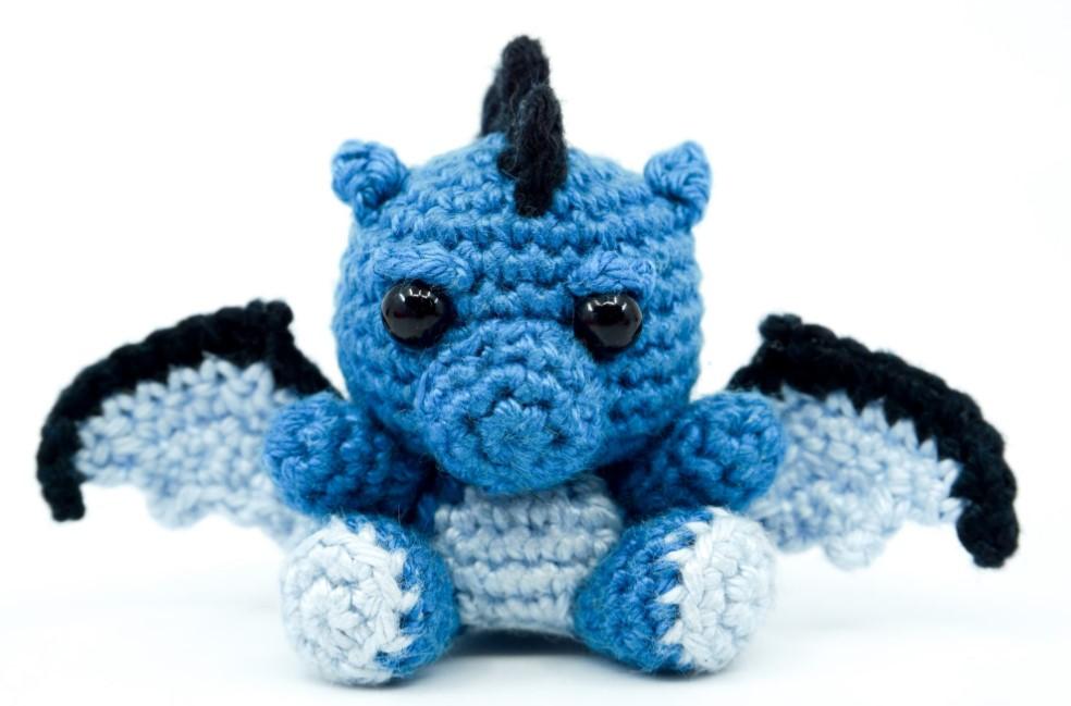 Amigurumi Dragon Crochet Pattern