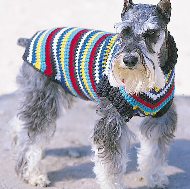 BERNAT CROCHET DOG COAT