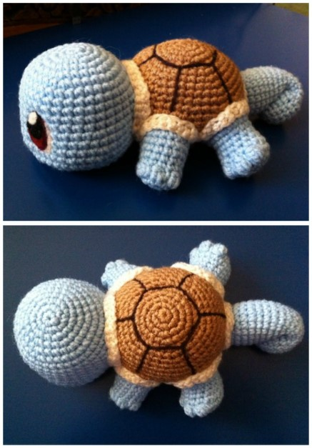 Baby Squirtle with pattern