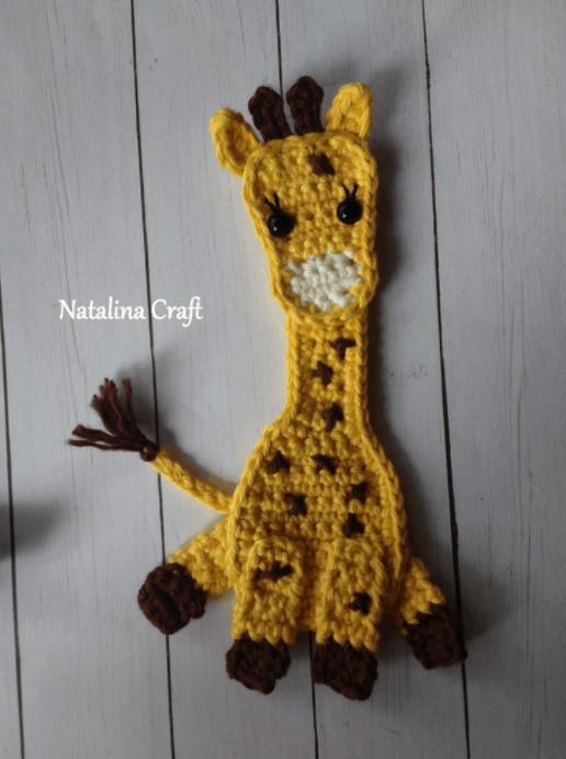 Crochet Appliques – Giraffe
